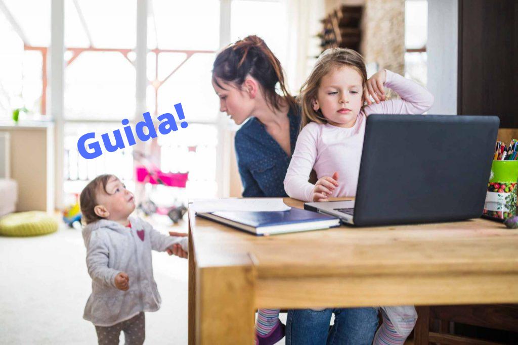 Mamma e lavoro: come gestire professione e figli a casa