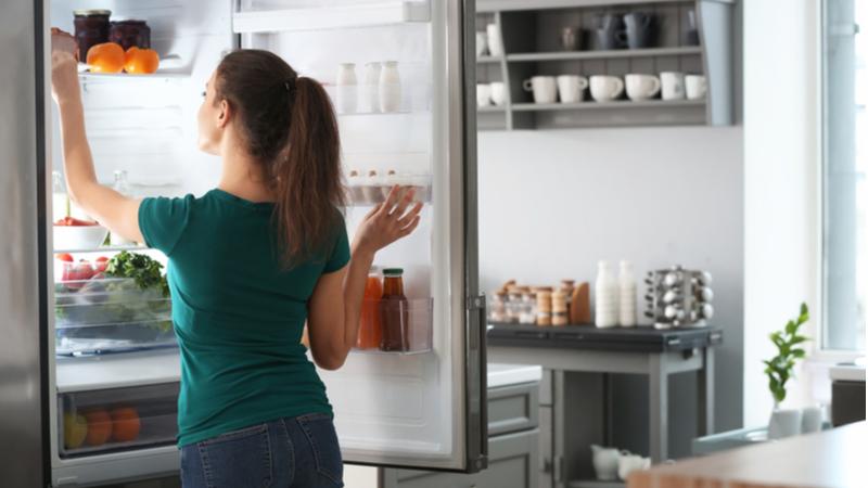 Come organizzare il frigorifero della mamma freelance